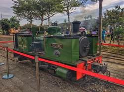 72歲Dougal蒸汽火車頭亮相   台英締結姊妹鐵道合作
