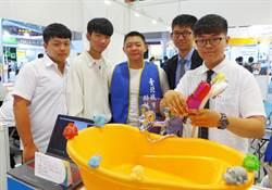 韓國首爾發明展  盲人專用智能飲水機、聲控蓮蓬頭獲金牌獎