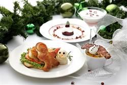 網紅打卡必備!「雪降莓果達克瓦滋聖誕樹」造型萌翻