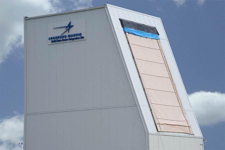洛馬的LRDR 遠程識別雷達。(圖/洛克希德馬丁)