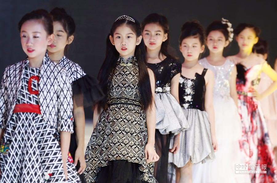 童裝成服飾業新戰場圖╱中新社