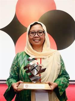 蔡英文頒發人權獎予印尼古斯都爾網絡