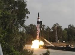 印度試射機動車載式的烈火5型飛彈 完成最終測試
