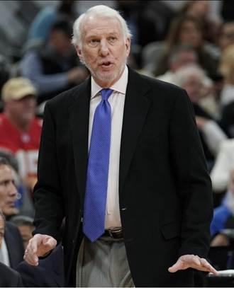 NBA》見證247任教頭去留 帕波維奇仍屹立不搖