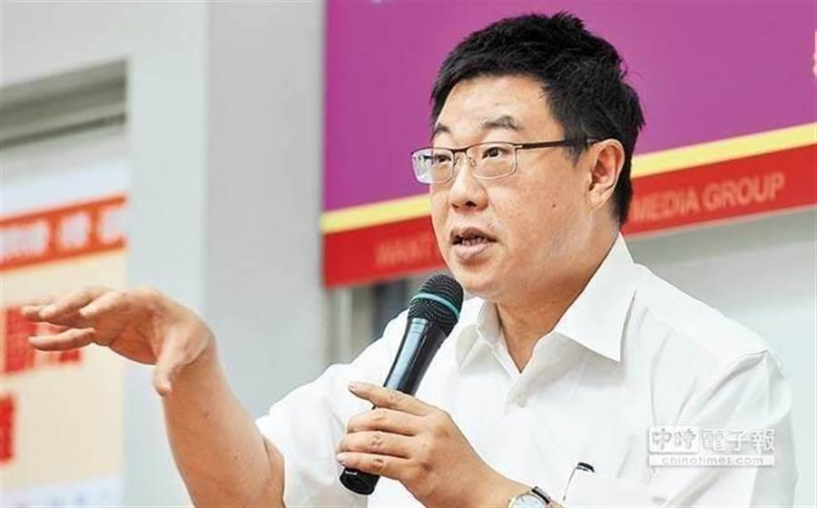 文化大學新聞系主任胡幼偉。(中時資料照)