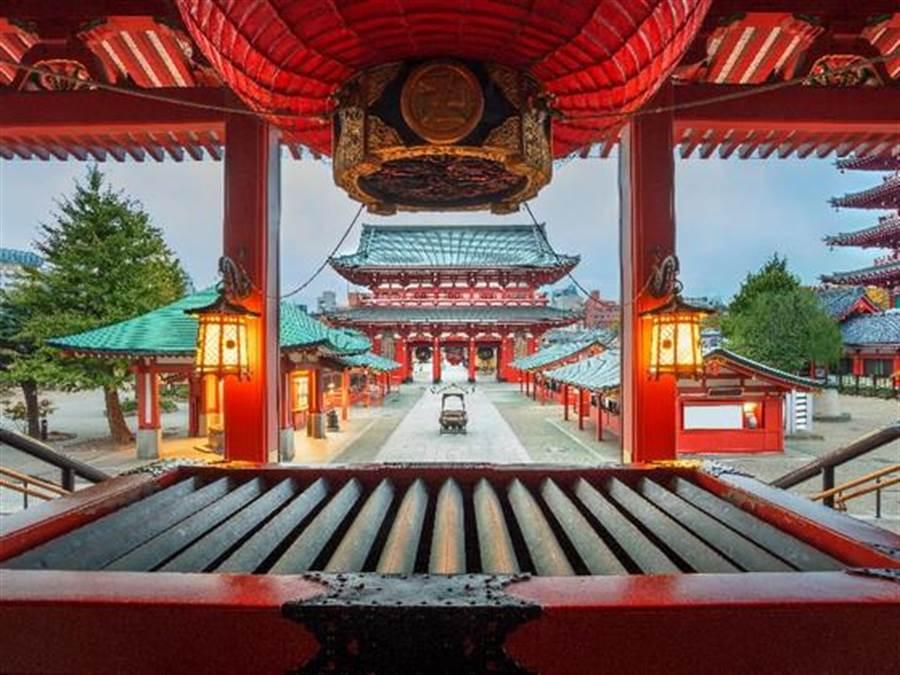 據易遊網機票銷售統計,在2019年春節期間,台灣人愛的旅遊地依舊是東京奪冠。(易遊網提供)