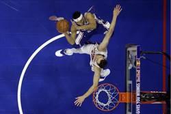 NBA》吉米巴特勒零得分 七六人仍輕取活塞