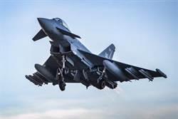 英國颱風戰機首掛流星飛彈 極速4馬赫射程100公里