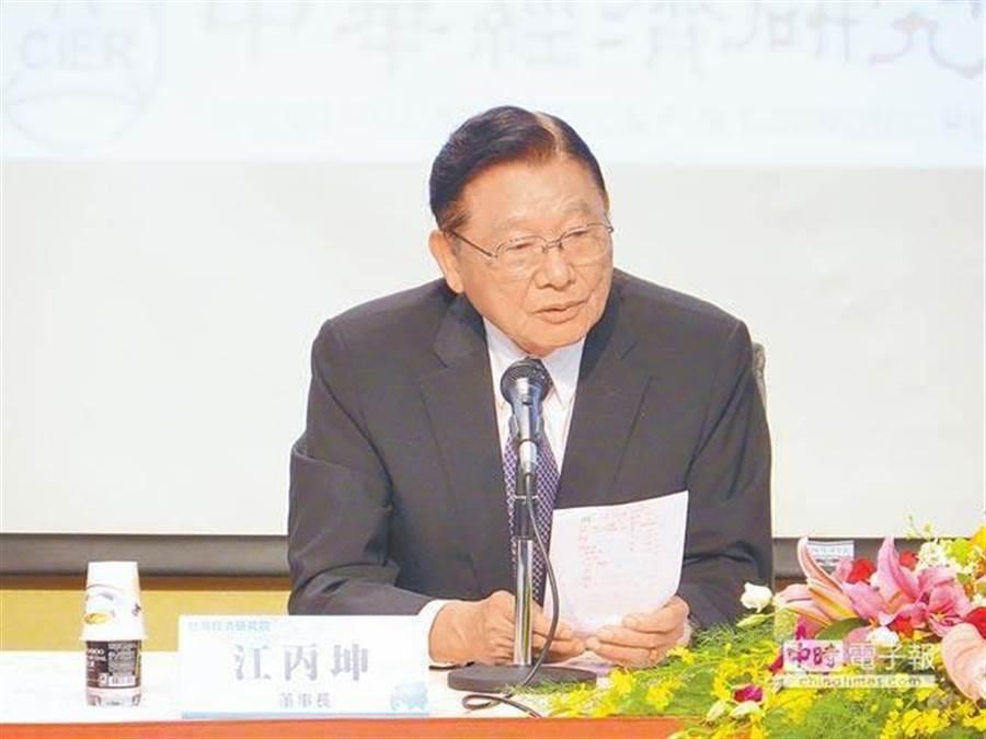 海基會前董事長江丙坤。(本報資料照片)