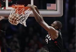 NBA》里歐納德缺陣 暴龍仍在客場打爆快艇