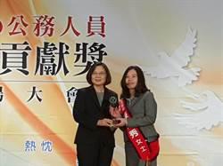 偵破多起社會矚目弊案  北檢發言人陳佳秀獲公務人員傑出貢獻獎