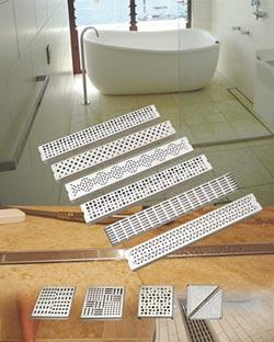 漢得利衛浴不鏽鋼製排水槽 獲國外高度評價