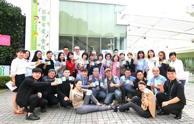 台中市30家咖啡業者攜手打出咖啡地圖,舉辦「喝咖啡、輕旅行」活動拚經濟。(盧金足攝)