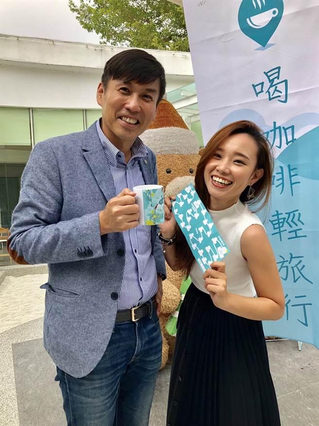 台中市30家咖啡店業者攜手打造咖啡地圖,發起「喝咖啡、輕旅行」活動。(盧金足攝)
