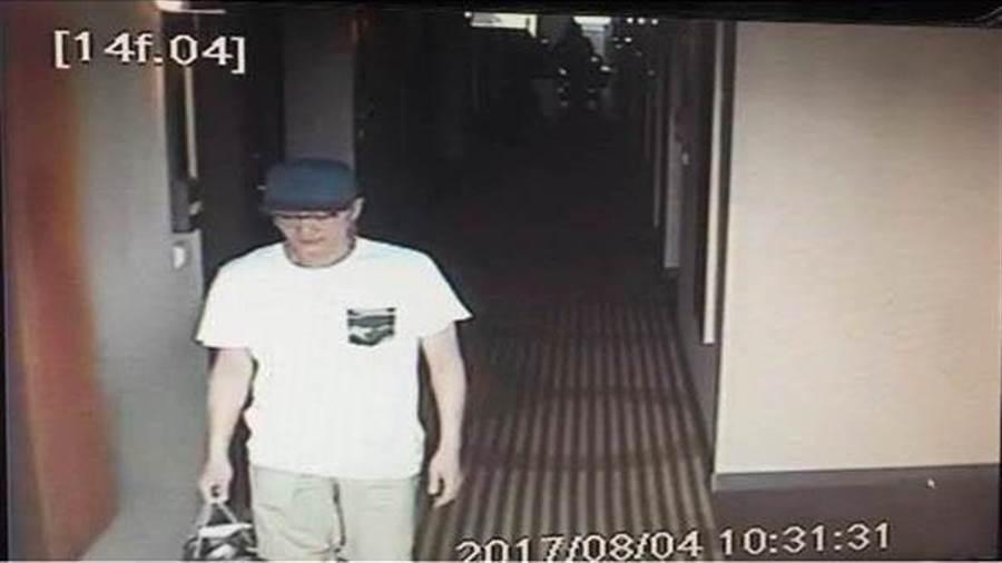 韓籍大盜趙準基曾從桃園機場落跑。(陳鴻偉翻攝)