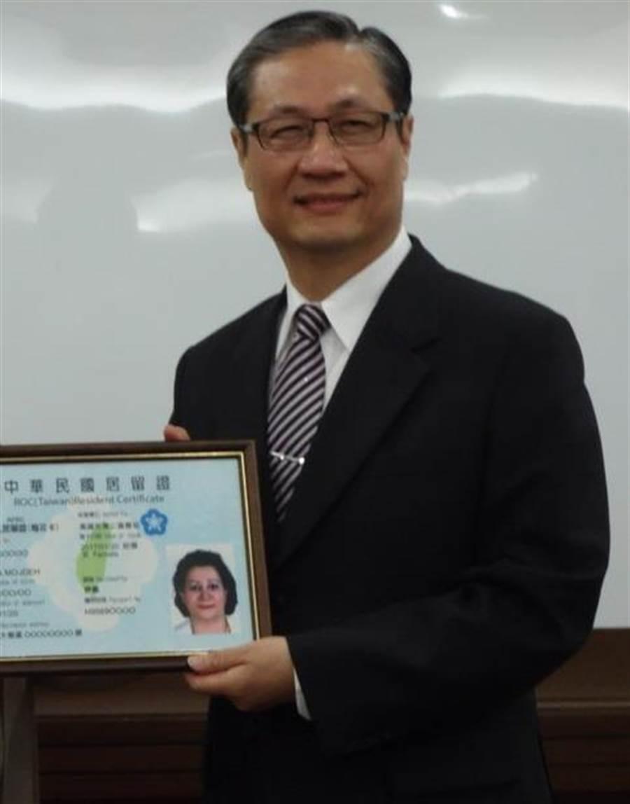 內政部移民署副署長鐘景琨,預計將接任署長職位。(圖/本報資料照,劉宥廷翻攝)