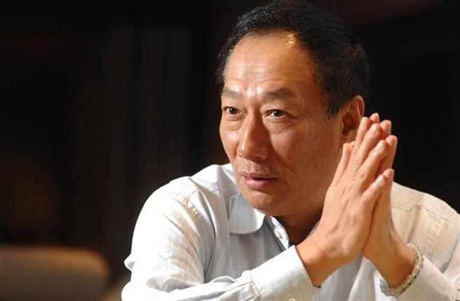 鴻海集團董事長郭台銘。(中時資料照)