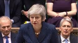 影》200票支持117票反對 英首相梅伊挺過逼宮危機!