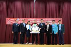 提升救護效能 國際扶輪社捐贈救護器材