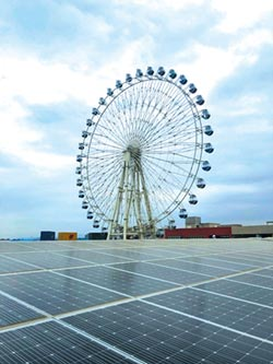 太陽能發電廠也可以這麼美……