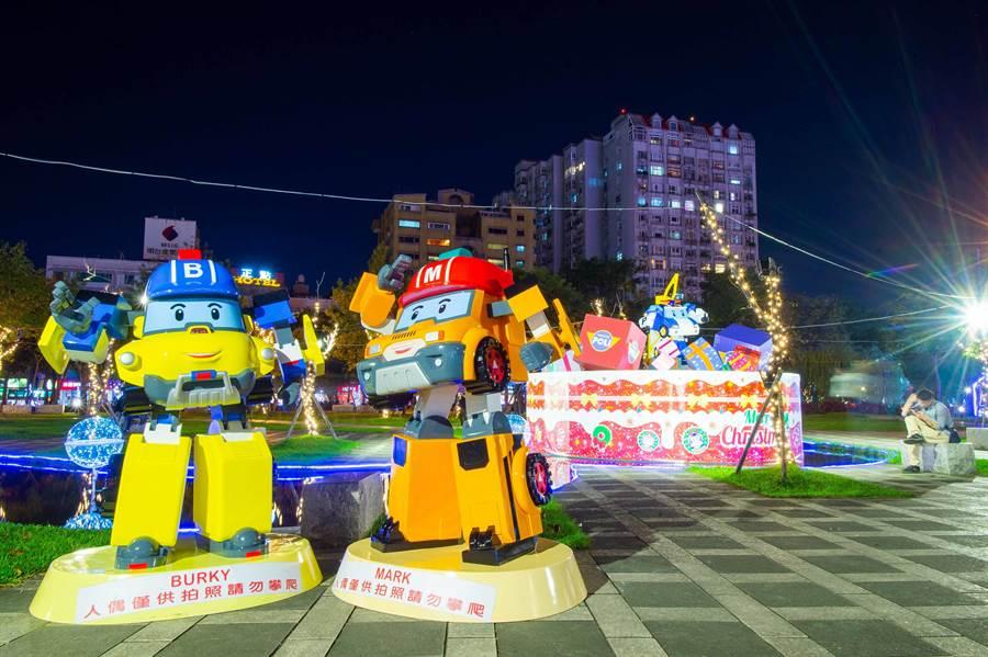 韓國的超人氣救援小英雄POLI首度在台灣免費戶外展出。