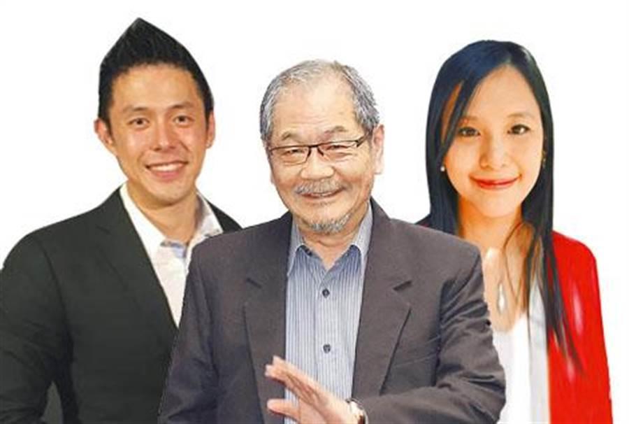 吳乃仁的女兒吳怡青與兒子吳怡翰分別擔任台苯董事長與董事。(圖/合成照片)