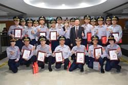 台南警1年搶救民眾輕生476件 21勇警獲表揚