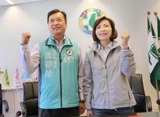 台中正副議長選舉 民進黨推舉曾朝榮、陳淑華