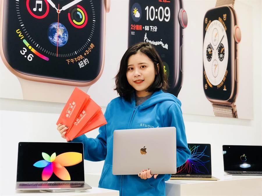 STUDIO A最新MacBook Air以及iPad Pro 即日起開放預約。(圖/STUDIO A提供)