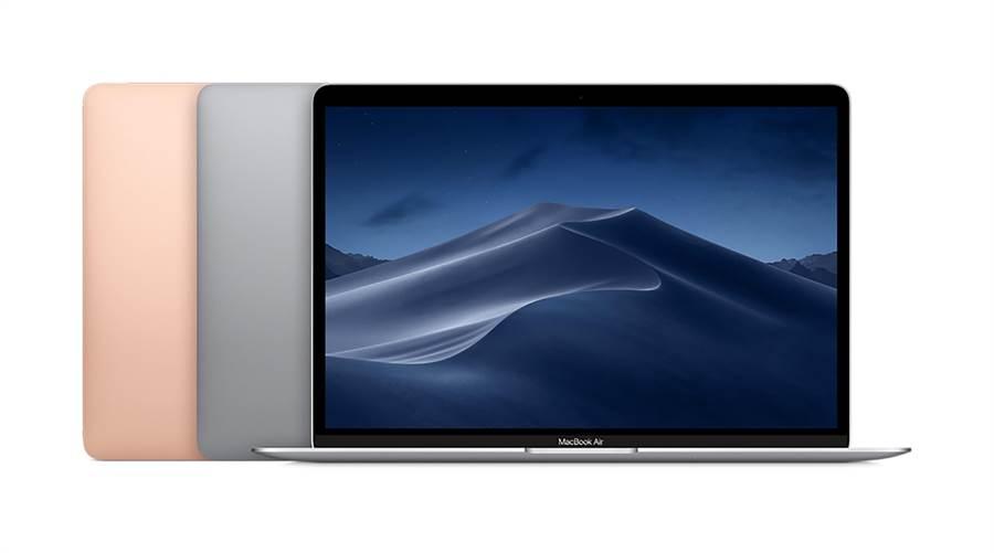全新 MacBook Air 128GB機型39,900元、教育優惠38,400元,256GB機型45,900元、教育優惠44,400元。。(圖/STUDIO A提供)