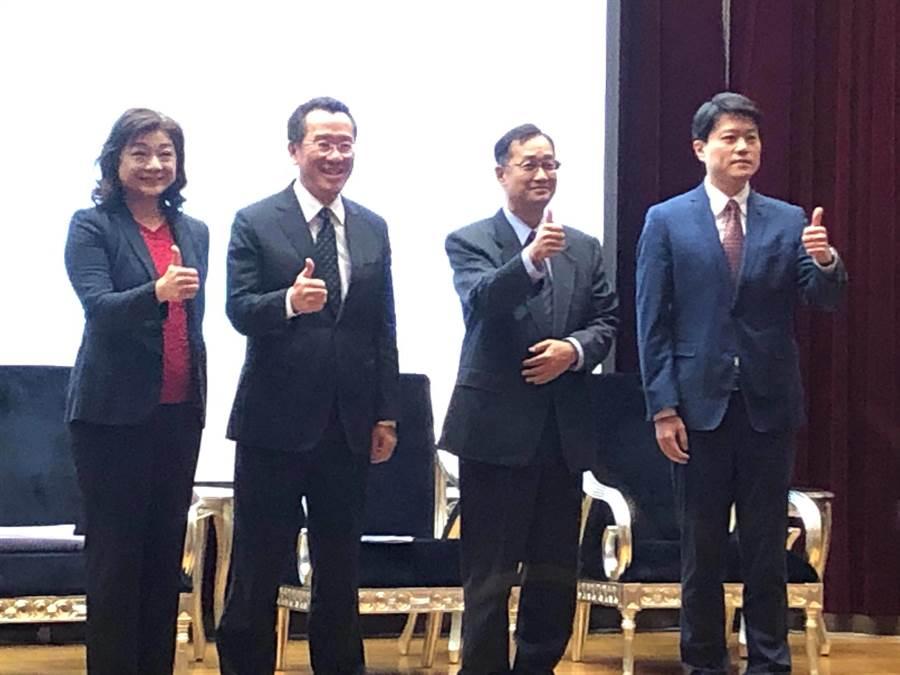 政大國際產學聯盟與遠見雜誌今日舉辦「台灣金融科技新藍海-關鍵政策與市場發展趨勢」論壇(魏喬怡攝)