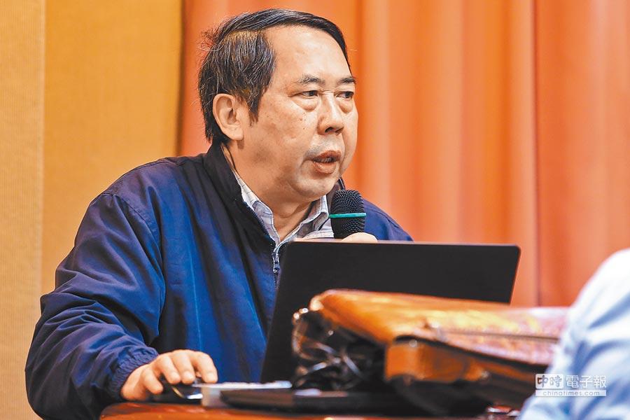 中國人民大學美國研究中心主任時殷弘。(本報系資料照片)