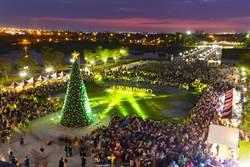 奇美博物館「聖誕週末」首日湧進萬人