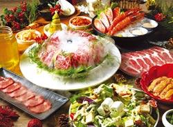 燒肉同話聖誕、跨年套餐 上桌