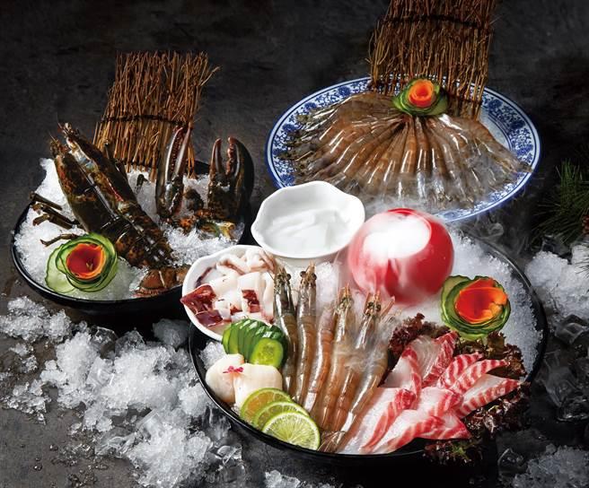 美味破盤價「海鮮拼盤」、「波士頓龍蝦」及「急凍鮮蝦」下殺優惠5折起。(圖片提供/這一鍋皇室秘藏鍋物)