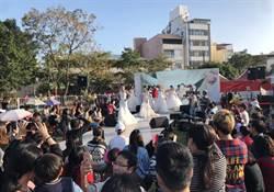花博葫蘆墩園區上演婚紗秀  洋溢浪漫幸福氛圍