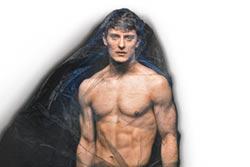 奧林斯基大方秀肌肉