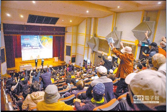 林心笛博士受「旺旺中時生活講堂」邀請演講,參與者熱烈提問。