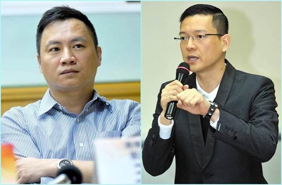 民運人士王丹(左,時週提供)稱大陸的手將從縣市伸進台灣,前立委孫大千(報系資料照)認為此說法是看不起台灣人民。