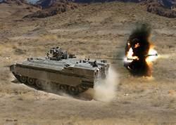 美軍布拉德雷戰鬥車將有「鐵拳」 抵抗反戰車飛彈
