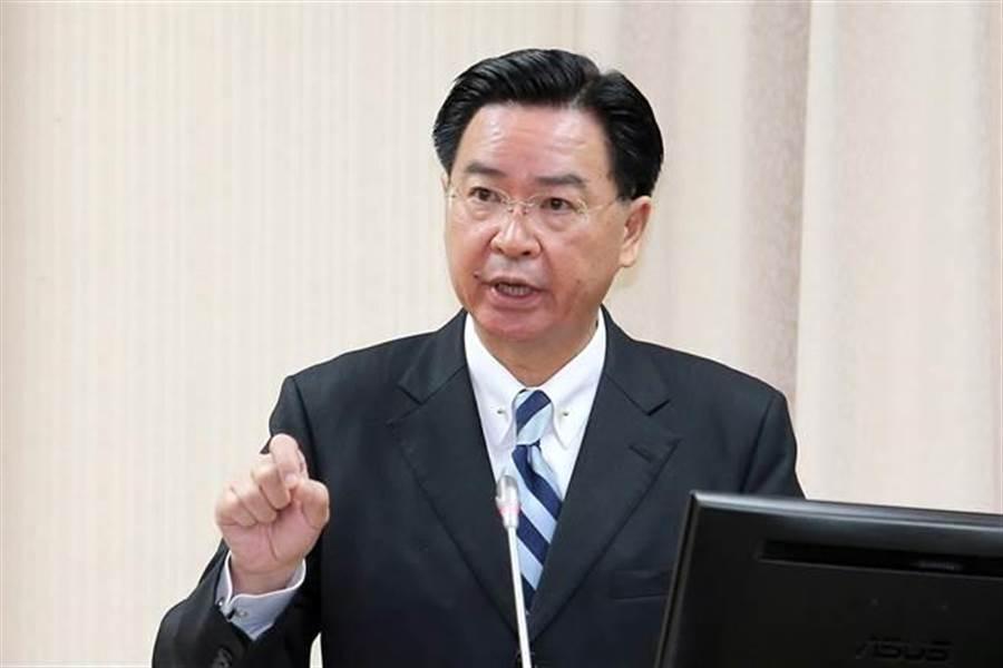 外交部長吳釗燮。(黃世麒攝)