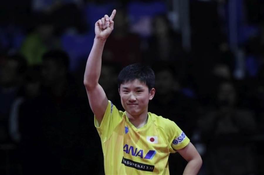 日本雜誌報導,16歲小將張本智提前取得2020年東京奧運桌球項目參賽資格。(美聯社資料照)