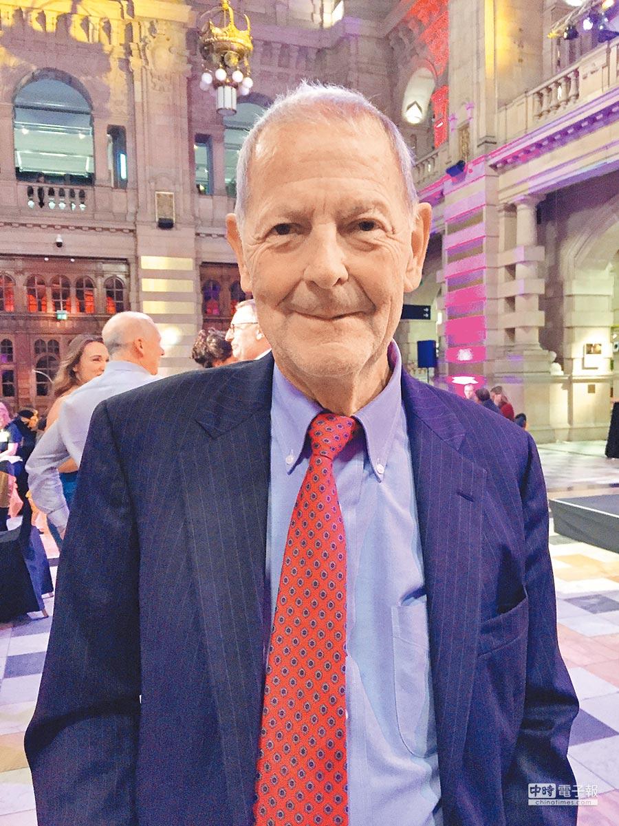 循環經濟之父施特爾(Walter Stahel)。(謝錦芳攝)