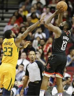 NBA》萬中選一 聯盟為了哈登修改規則?
