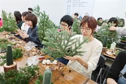 台中建商號召社區住戶一起「種一棵聖誕樹」