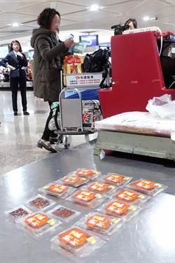 影》陸配夾帶15片豬肉乾 桃機開出首張20萬元重罰單