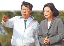 蔡鄭今會 只談市政 不講黨務