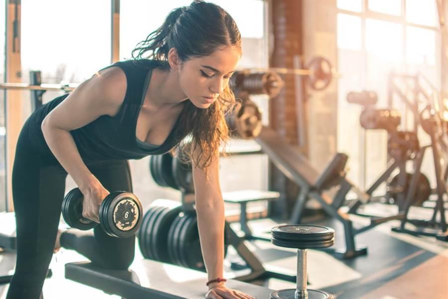 肌肉量的增加才是吃不胖的本錢。(圖/達志影像)