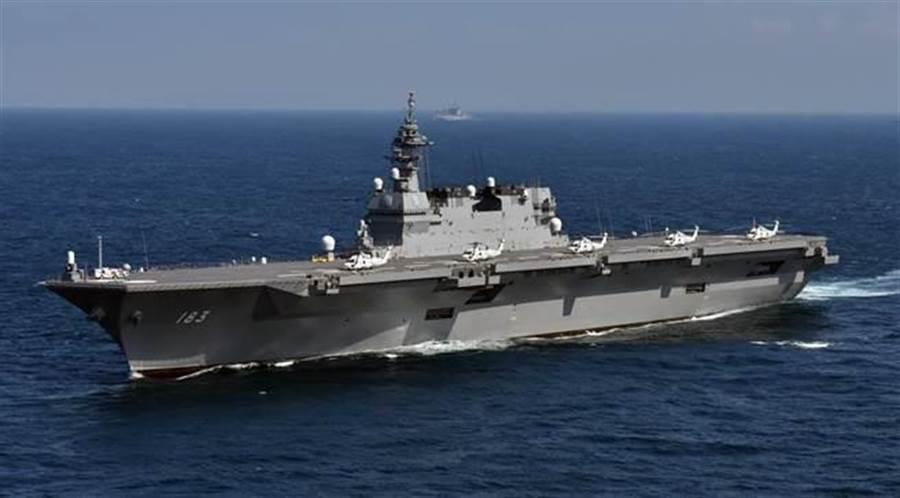 日本新《防衛計劃大綱》中決定將出雲級護衛艦航母化。(圖取自日本海上自衛隊)