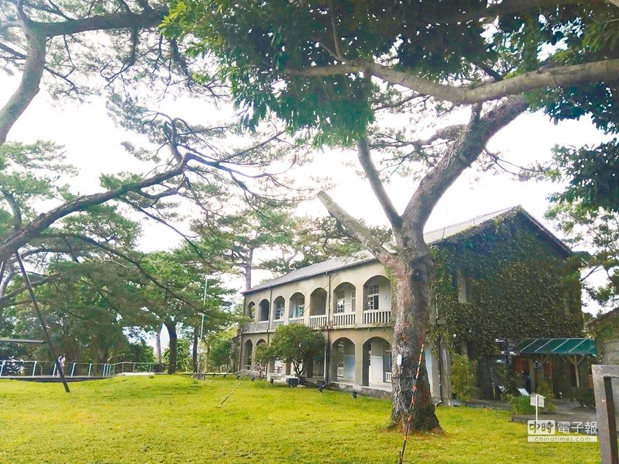 花蓮松園別館近2年遊客大減,造成營運困難。(許家寧攝)